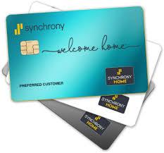 synchrony home credit card mysynchrony