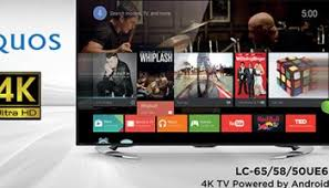 sharp 4k tv. a bright, clear christmas with sharp aquos 4k tv r