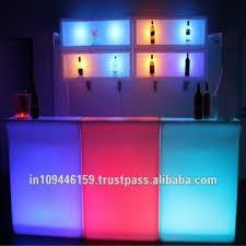 mercial Led Bar Set Light Bar Counter Led Reception Table