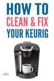 Of the water level guide. How To Clean A Keurig And Fix A Broken One Housewife How Tos