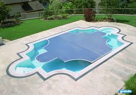 automatic pool covers. Free Form Automatic Rigid Slatted Pool Cover Covertech Grando 4. Covers