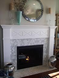 marble white marble tile fireplace tile over brick fireplace floor decoration black hearth white black white