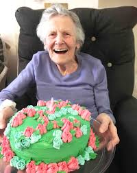 A Big Happy Birthday To Patricia At Houndswood House Care Home