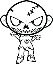 Scary Coloring Pages For Halloween Another Coloring Website
