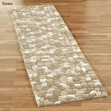 pebble rectangle rug
