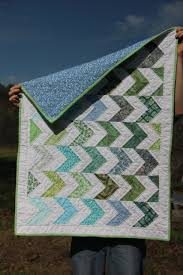 Quilts | Greens and Jeans & Chevron Baby Quilt Adamdwight.com
