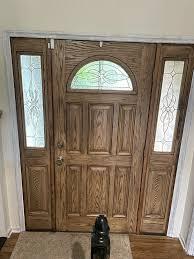 how to paint a fiberglass door best