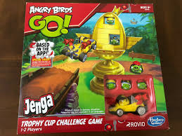 Angry Birds Go Jenga Trophy Cup Challenge Game Ages 6 A6438 Rovio ...