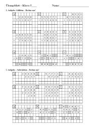 Übungsblätter für mathe ab der grundschule mit lösungen. Einstiegstest Am Gymnasium Matheaufgaben Zu Den Grundrechenarten