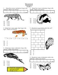 Worksheets Grade 2 Measurement | Homeshealth.info