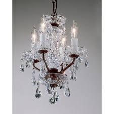 daniele 4 light mini chandelier crystal type swarovski elements finish gold plated