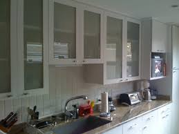 Red Kitchen Cupboard Doors Glass Door Kitchen Cabinet Stock Photography Kitchen Cabinets