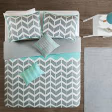 intelligent design laila 5 piece teal full queen geometric duvet cover set id12 229 the home depot