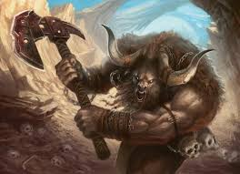 Image result for minotaur battle