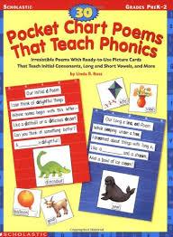 Pocket Chart Poems For Kindergarten Amazon Com 30 Pocket Chart Poems That Teach Phonics