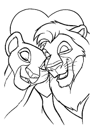 Disney Coloring Pages Lion King Coloringstar