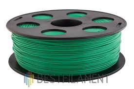 <b>ABS пластик</b> для 3D-принтеров Bestfilament. Цвет <b>зеленый</b>. 1 кг ...