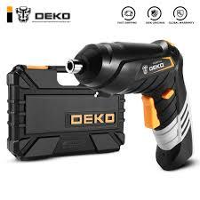 DEKO DKCS3.6O1 S1/S2/S3 Điện Máy Bắt Vít Không Dây Tác Động Keyless Chuck  Sạc Pin|Tua Vít Điện