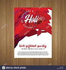 Web Design Sample Text Happy Holi Festival The Festival Of Colors White Brochure
