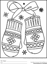 Small Picture Winter Coloring Pages For Kids Printable Free Sheets Printables