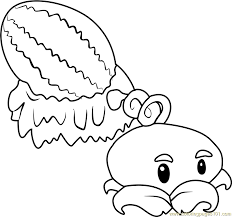 Small Picture Plants vs Zombies Coloring Pages
