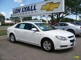 2008 White Chevrolet Malibu Hybrid Sedan #32965756 | GTCarLot.com ...