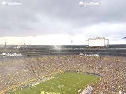 You Will Love Lambeau Field Seating Chart Section 131