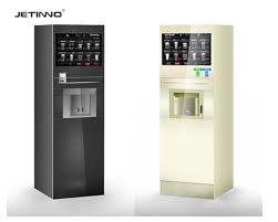 Milk Vending Machine Manufacturer Custom 48 Inch Touch Screen Drink Vending Machine Of Instant Coffee And Tea