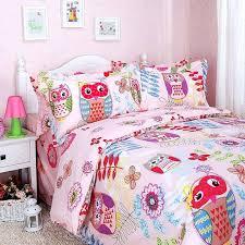 owl comforter set twin nursery bedding set for baby girl with owl
