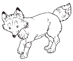 Small Picture Coloring Page Fox Animals Coloring Pages Fox Coloring Pages In