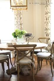 round restoration hardware dining table crisscross chairs love