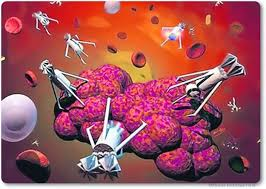Resultado de imagen para Nanorrobots para matar el cáncer
