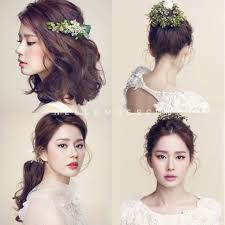 korean wedding hair so pretty even if you re not getting married