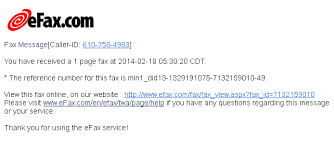 Example Of A Fax Message Recent Phishing Examples Fax Library Technology Services