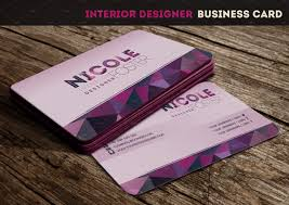 business cards interior design. Interior Designer Business Card ~ Templates Creative Market Cards Design O