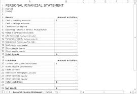 Income Statement Template Word Amazing Monthly Income Statement Template Excel Annual Financial Statements