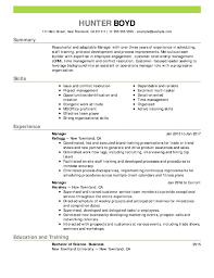 Resume Samples For Every Job Title Industry Resume Now