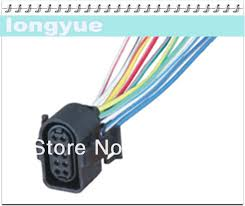 aliexpress com buy longyue 2pcs universal 10 way headlight Wiring Pigtails For Automotive factory sale 2pcs 10 way headlight pigtail connector automotive wiring harness socket 15cm wire(if need other wire length, please contact us) Pigtail Wiring Harness Repair