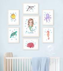 sea nursery wall art ocean