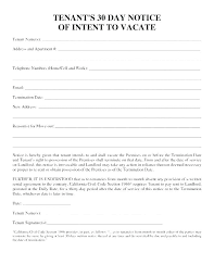 Private Landlord Eviction Notice Template Tenant Form