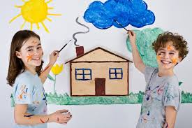 kids painting picture. Modren Painting Kids Painting Picture Throughout G