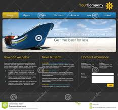 professional webtemplate professional website template stock photo image of