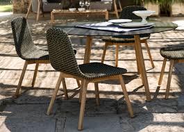 round garden dining chair