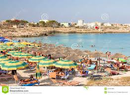 Beach In Lampedusa Italy Editorial Image Image Of Holiday 32461095