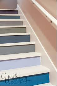 painted basement stairs. Delighful Painted Multicolored Painted Basement Steps Inside Stairs E