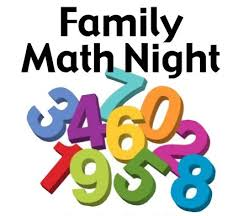 Image result for family math night