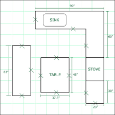 Kitchen Floor Plans With Dimensions,Kitchen Floor Plans With Dimensions,Kitchen  Layouts Dimension ...