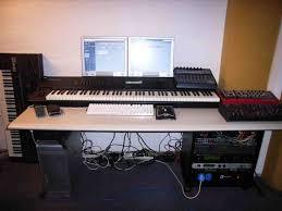 small studio desk