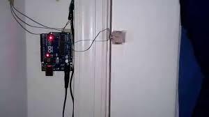 Arduino and Door Sensor - YouTube