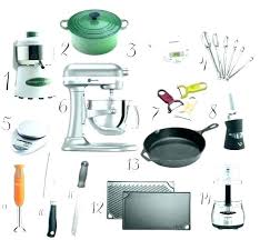 kitchen appliances list must have small five in english